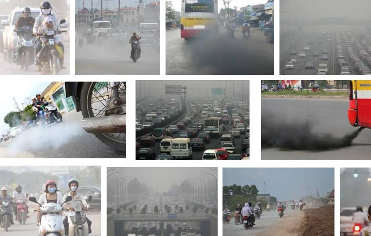 Kết quả hình ảnh cho Ô nhiễm khí xả động cơ
